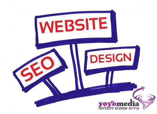 בניה וקידום אתרים