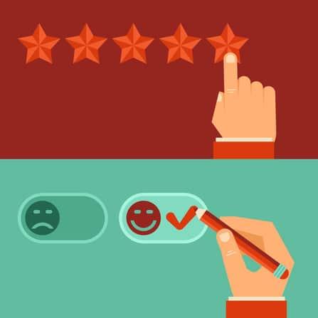 איך ביקורות ברשת משפיעות על החלטות הקניה של הלקוח הפוטנציאלי שלך